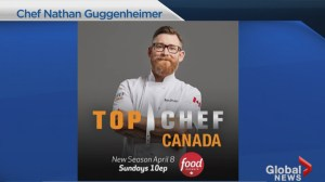 Saskatoon chef Nathan Guggenheimer contestant on Top Chef Canada